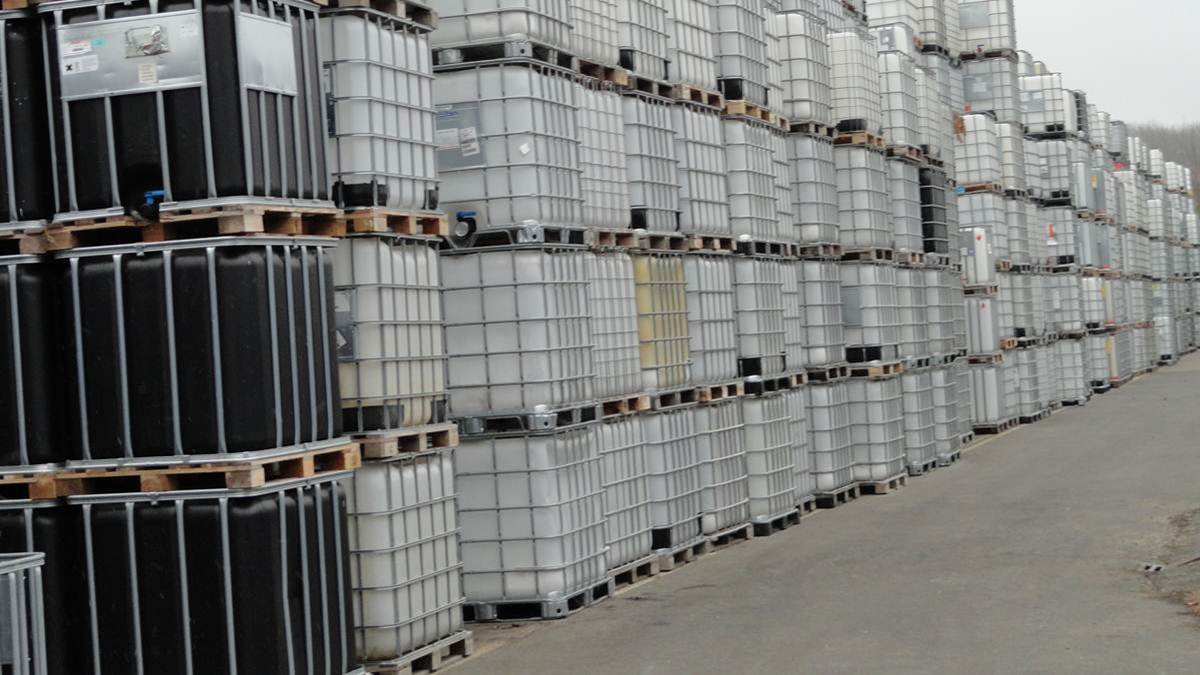 Container IBC pentru produse nepericuloase