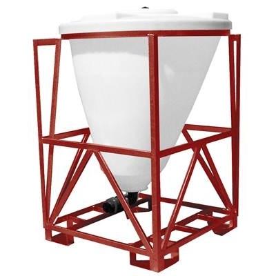 Rezervoare siloz cilindrice pentru lichide cu suport din otel